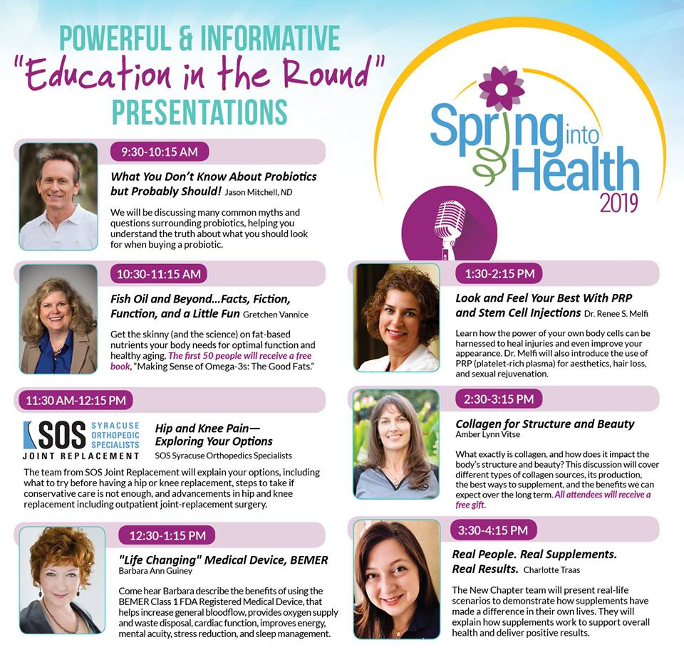 ‎Natur-Tyme 19th Annual Spring into Health Extravaganza